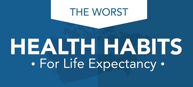 The Worst Health Habits For Life Expectancy