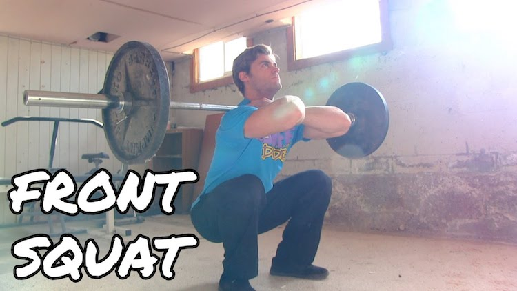 How To Perform The Front Squat