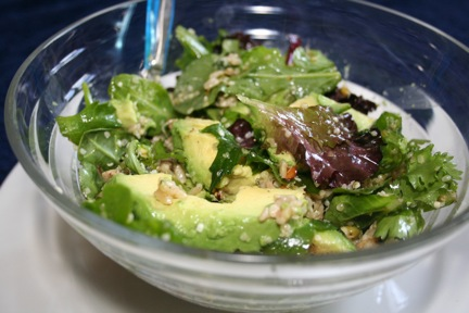 Hemp Seed and Avocado Salad