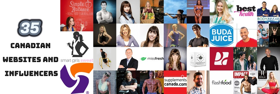 35 Canadian Websites and Influencers
